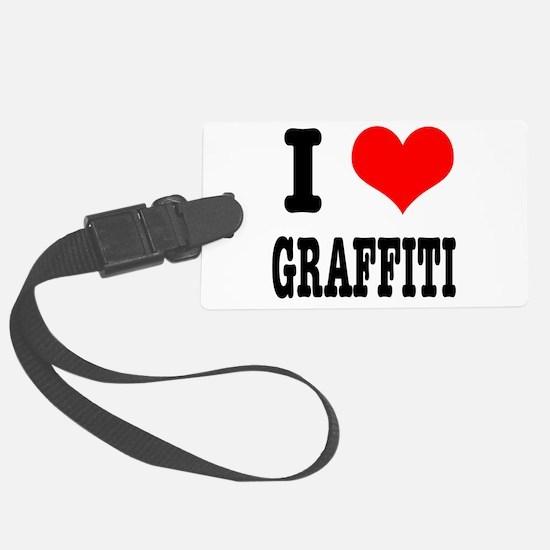 GRAFFITI.png Luggage Tag