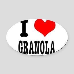 GRANOLA Oval Car Magnet