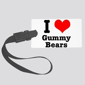 gummy bears Large Luggage Tag