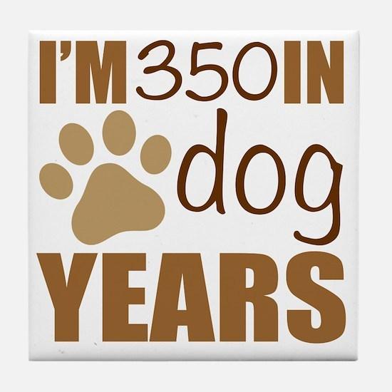Cute Funny 50th birthday Tile Coaster