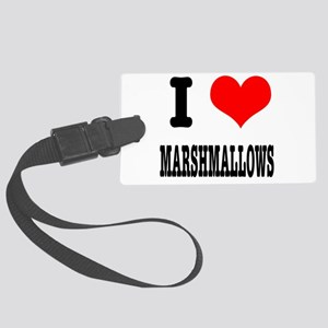 marshmallows Large Luggage Tag