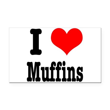 muffins.png Rectangle Car Magnet