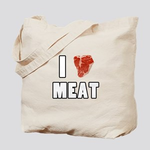 I Heart Meat Tote Bag
