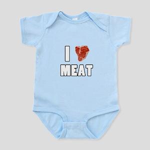 I Heart Meat Infant Bodysuit