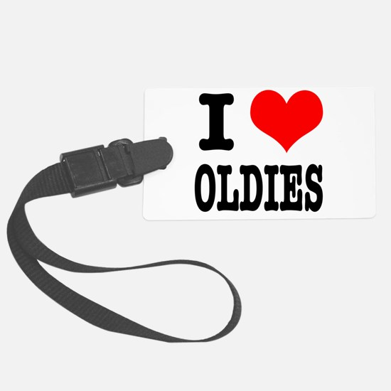 OLDIES.png Luggage Tag