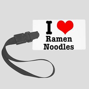 ramen noodles Large Luggage Tag