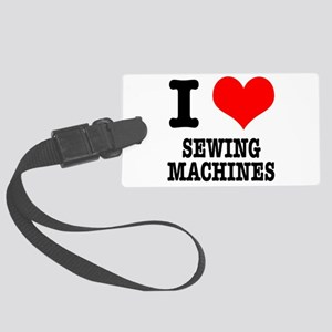 SEWING MACHINES Large Luggage Tag