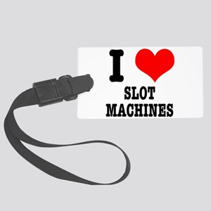 SLOT MACHINES Large Luggage Tag