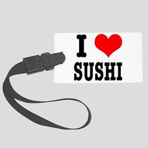 sushi Large Luggage Tag