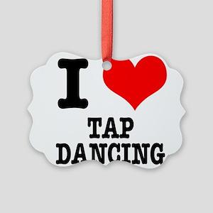TAP DANCING Picture Ornament