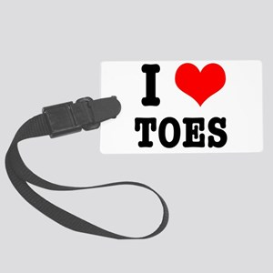toes Large Luggage Tag