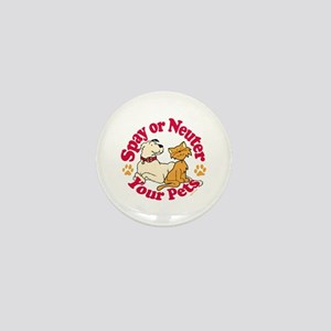 Spay/Neuter Circle (Pets) Mini Button