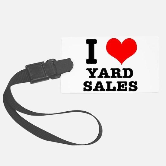 YARD SALES.png Luggage Tag