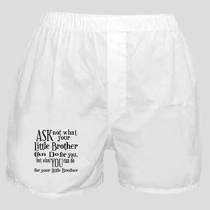 Ask Not Little Brother Boxer Shorts
