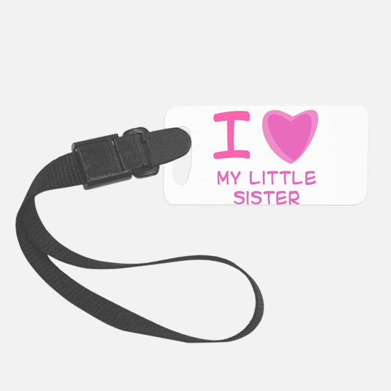 little sister girl.png Luggage Tag