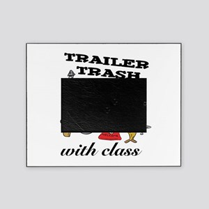 3-trailer trash with class.png Picture Frame