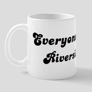 Riverside girl Mug