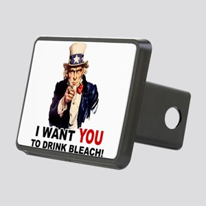 DRINK BLEACH Rectangular Hitch Cover