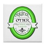 Otter Tile Coaster