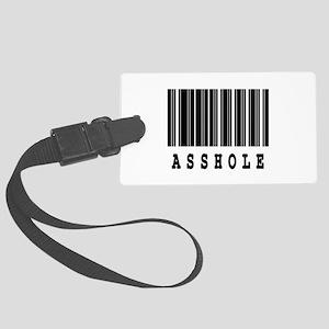 asshole Large Luggage Tag