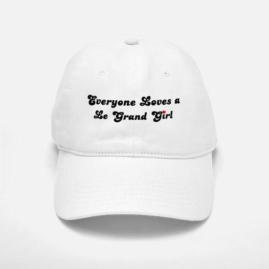 Le Grand girl Baseball Baseball Cap