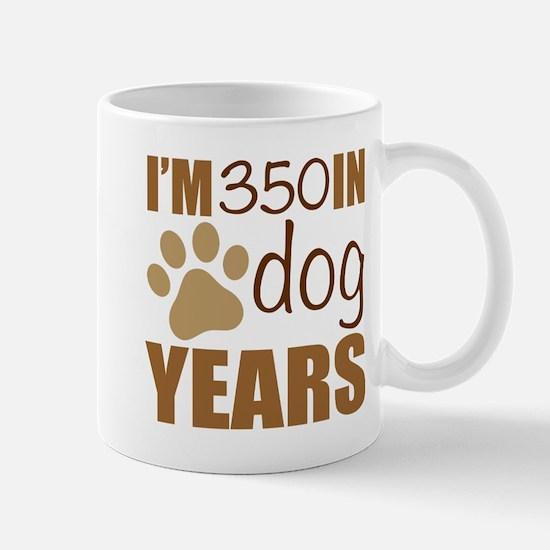 50th Birthday Dog Years Mugs