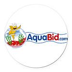 aquabid_1457x600 Round Car Magnet