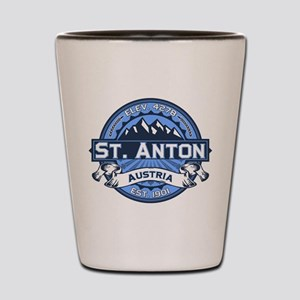 St. Anton Blue Shot Glass