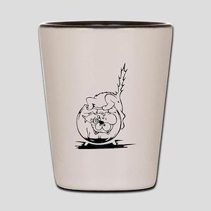 Cat Fish Bowl Shot Glass