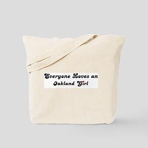 Oakland girl Tote Bag