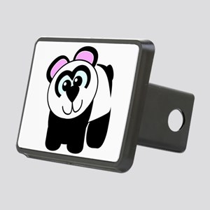 3-panda.png Rectangular Hitch Cover