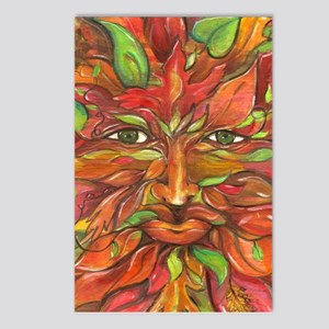 Autumn Greenman 2 Postcards (Package of 8)
