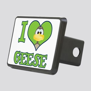 love geese.png Rectangular Hitch Cover