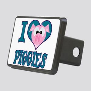 love piggies.png Rectangular Hitch Cover