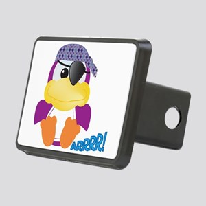pirate ducky.png Rectangular Hitch Cover
