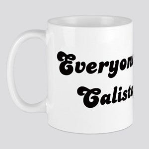 Calistoga girl Mug