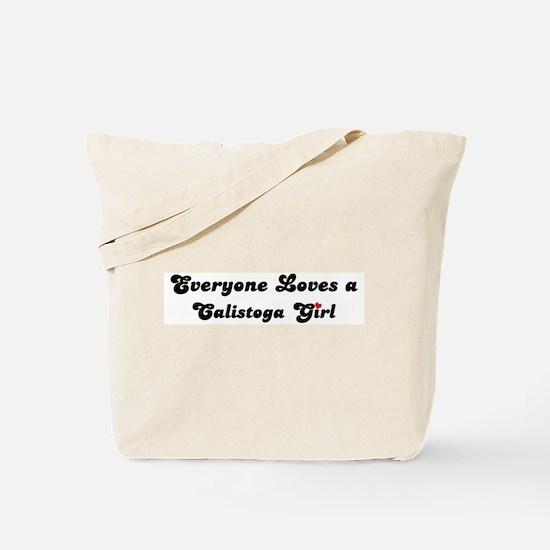Calistoga girl Tote Bag