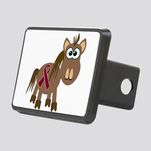 burg ribbon horse Rectangular Hitch Cover
