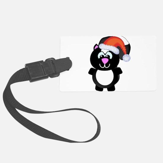 skunky santa.png Luggage Tag
