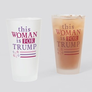 FOR Trump Drinking Glass