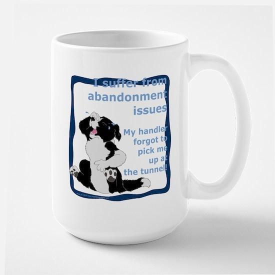 Abandonment Issues Large Mug