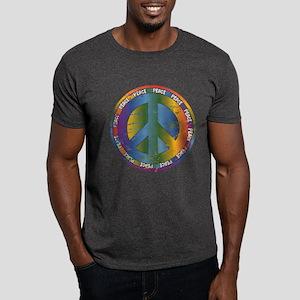 Big Peace Symbol Dark T-Shirt