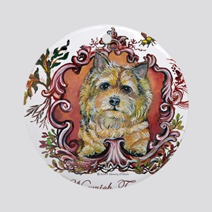 Norwich Terrier Vintage Ornament (Round)
