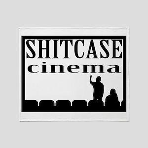 Shitcase Cinema Logo Throw Blanket