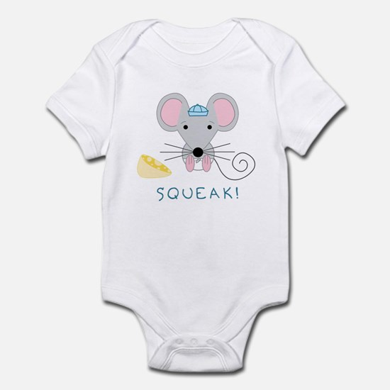 Squeak! Mouse w/ Cap for Baby Boys