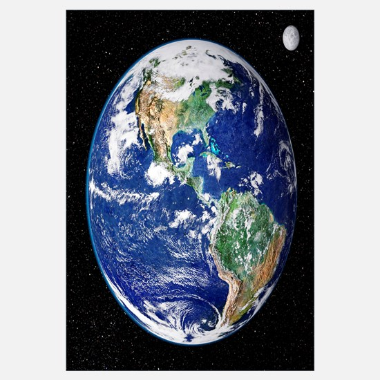 Earth from space, satellite image