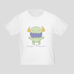 Green Giggle Monster Toddler T
