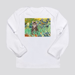 Irises / Tiger Cat Long Sleeve Infant T-Shirt