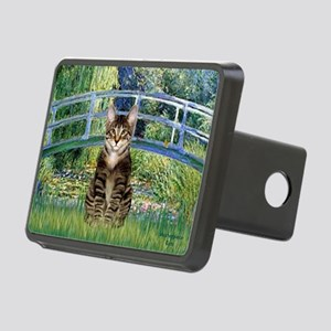 Bridge - Tabby Tiger cat 30 Rectangular Hitch