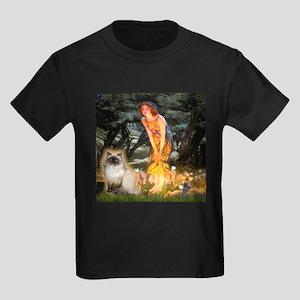 TILE-MidEve-HimilayanJF Kids Dark T-Shirt